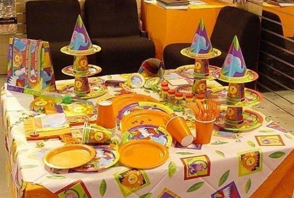 Фото оформление детского стола на день рождения своими руками фото