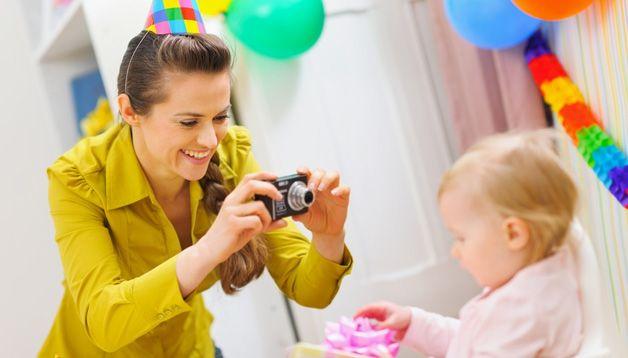 Фотографирование ребенка