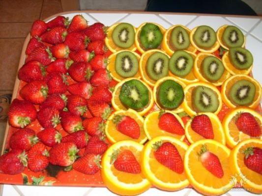 На детском столе всегда должны быть фрукты.