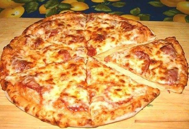 От пиццы дети редко отказываются.