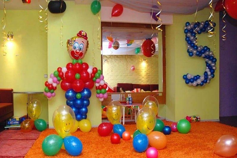 Как украсить комнату ребенка на день рождение фото